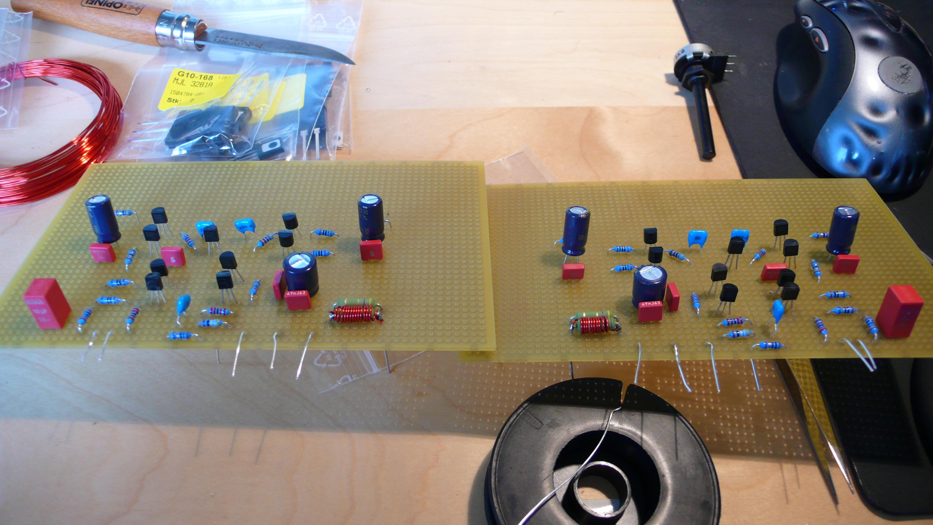Wir bauen uns einen High-End-Verstärker – Eine Schritt-für-Schritt ...
